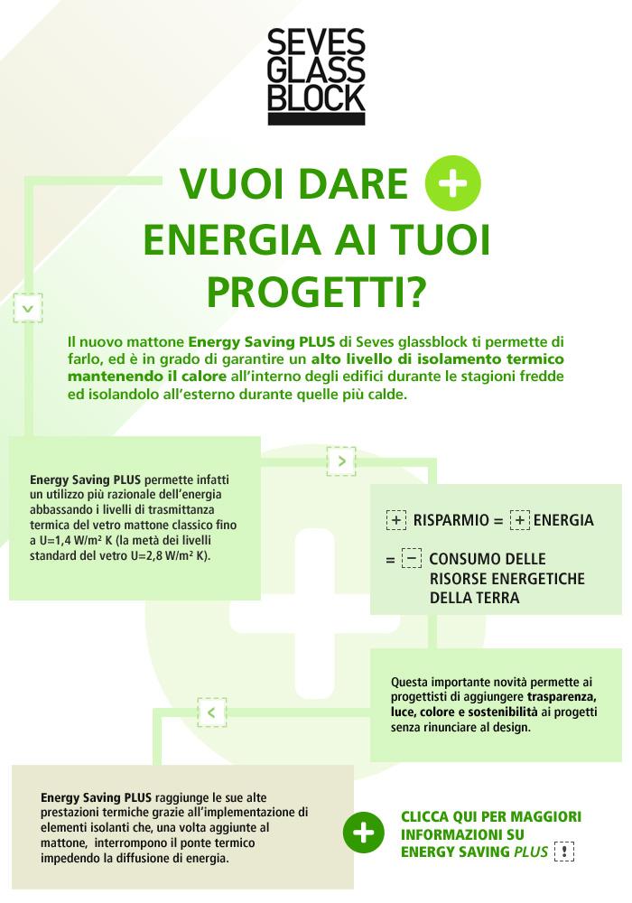 Clicca qui per maggiori informazioni su Energy Saving Plus!