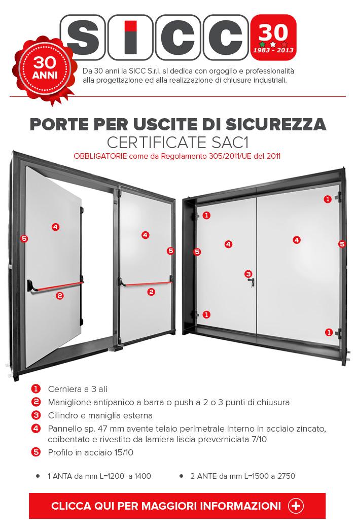 PLAN DOOR CERTIFICATE SAC1