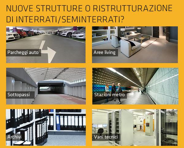 Nuove strutture o ristrutturazione di interrati/seminterrati?