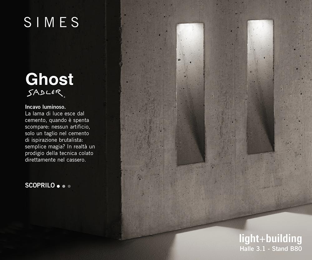 SIMES   Ghost by Sadler - Incavo luminoso