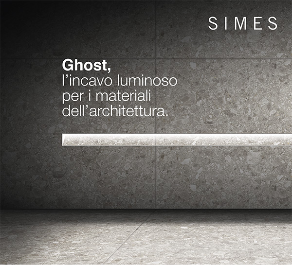 Ghost, l'incavo luminoso per i materiali dell'architettura