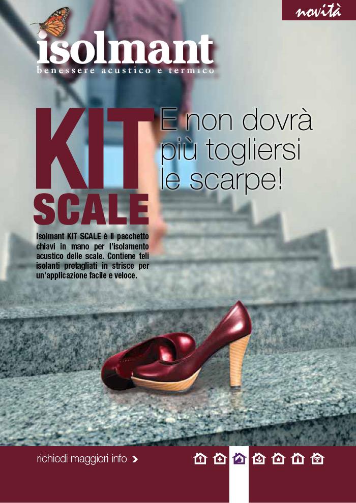 Isolmant Kit Scale: isolamento acustico a regola d'arte per il vano scala