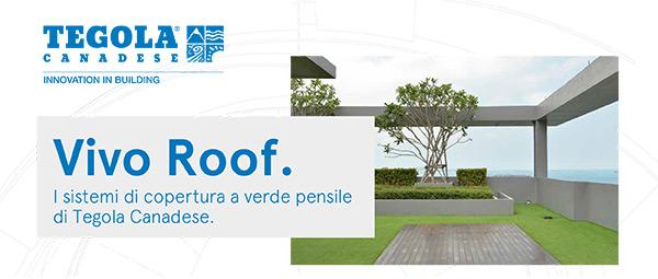 Vivo Roof. I sistemi di copertura a verde pensile di Tegola Canadese