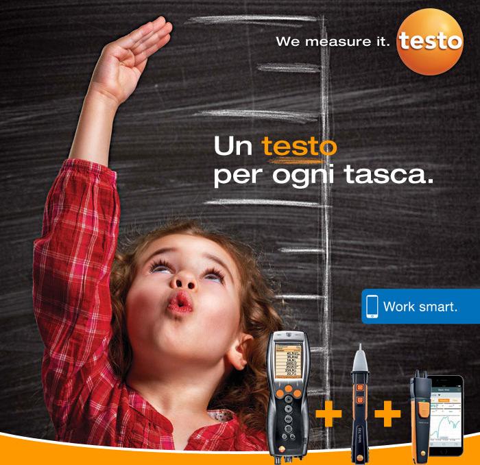 We measure it. testo | testo Saveris 2