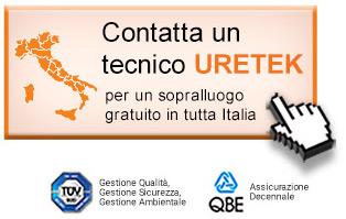 Contatta un tecnico Uretek per un sopralluogo gratuito in tutta Italia