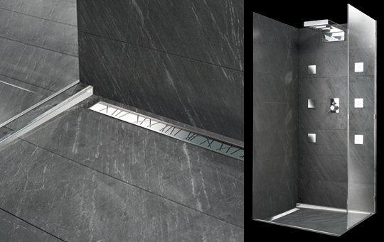 Bagni con doccia a pavimento idee di design nella vostra - Bagni con doccia a pavimento ...