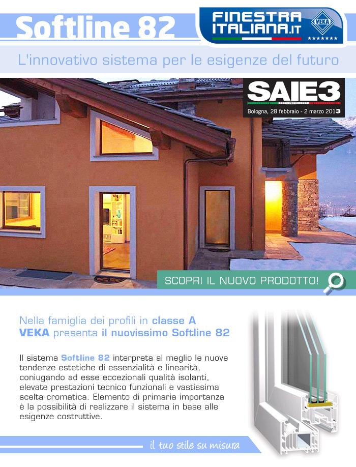 Scopri il nuovissimo prodotto Softline 82 di Veka!L'innovativo sistema per le esigenze del futuro.