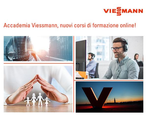 Accademia Viessmann, nuovi corsi di formazione online!