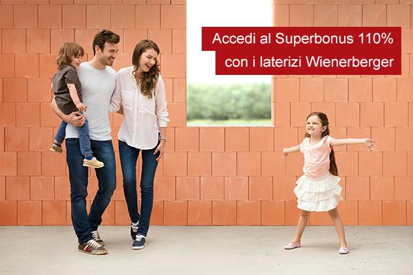 Accedi al Superbonus 110% con i laterizi Wienerberger
