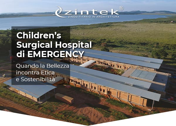 Zintek - ARCHITETTURA SOSTENIBILE - Lo zintek® azzera l'impatto ambientale