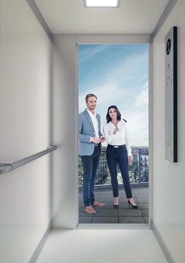 synergy 100: ascensore puro ed efficiente