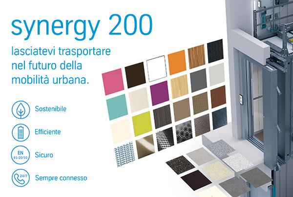 synergy 200: laciatevi trasportare nel futuro della mobilità urbana