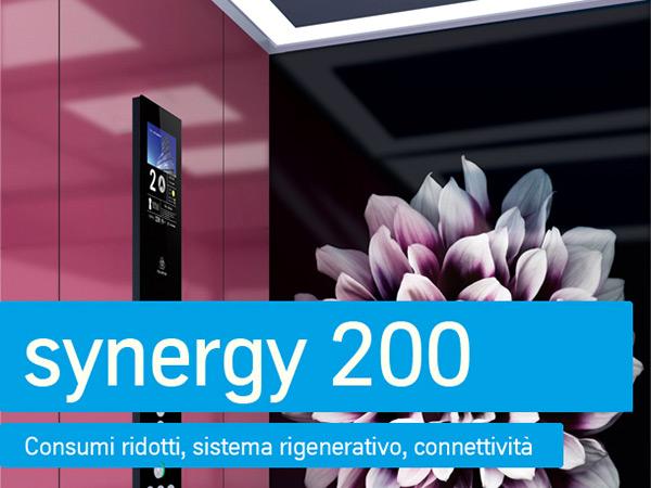 synergy 200: consumi ridotti, sistema rigenerativo, connettività