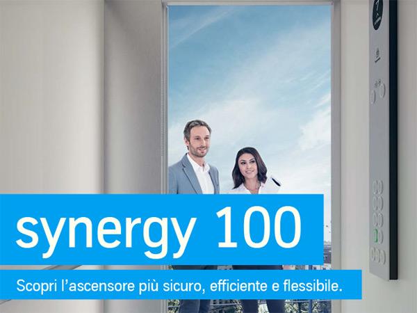 synergy 100: scopri l'ascensore più sicuro, efficiente e flessibile