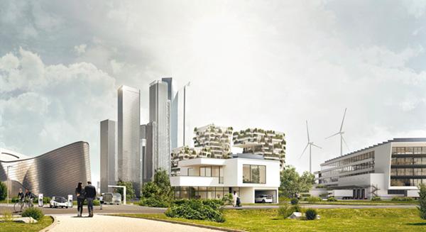 città intelligente e sostenibile