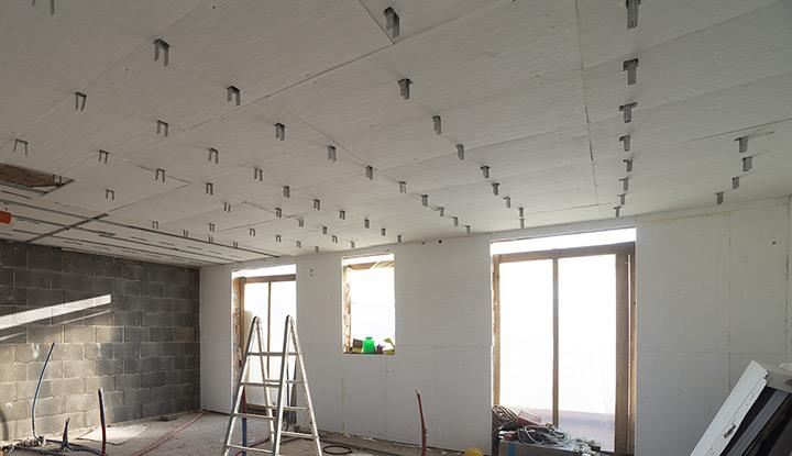 – Amagel A2 è perfetto per l'isolamento termico delle pareti realizzate con sistema a secco