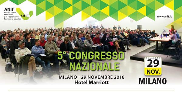 5° congresso nazionale - Milano - 29 Novembre 2018