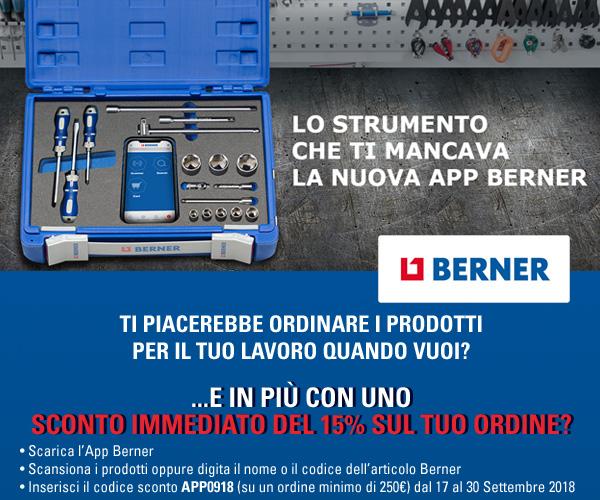 Lo strumento che ti mancava: la nuova app Berner