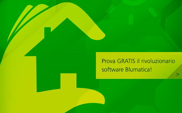 Prova gratis il rivoluzionario software Blumatica!