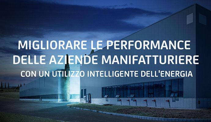 Migliorare le performance delle aziende manifatturiere con un utilizzo intelligente dell'energia