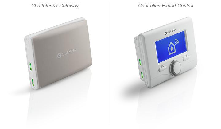 Chaffoteaux Gateway e il gestore di sistema expert control