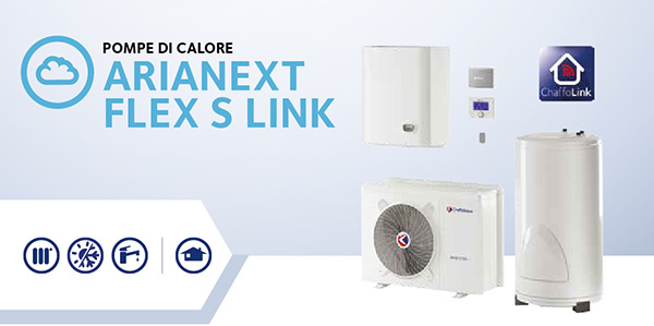 Pompe di calore Arianext Flex S Link