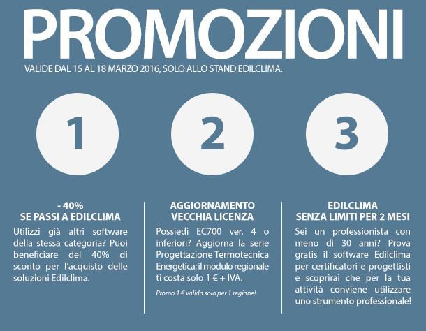 Le promo Edilclima hanno i giorni contati: vieni a MCE! 2