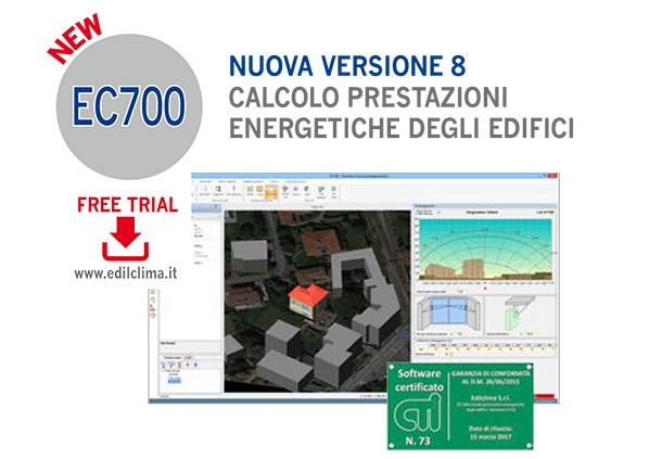 Focus prodotto serie progettazione termotecnica energetica for Software di progettazione di edifici domestici