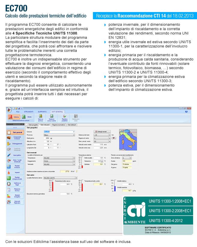 Software EDILCLIMA 10