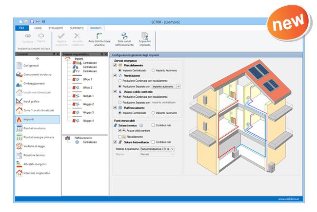 EC700 Calcolo prestazioni energetiche degli edifici 1