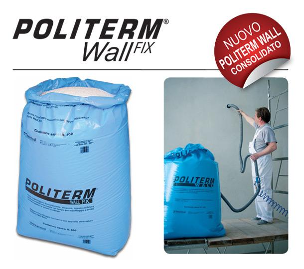 Isolamento termico veloce, non invasivo e pulito: Politerm Wall Fix 1