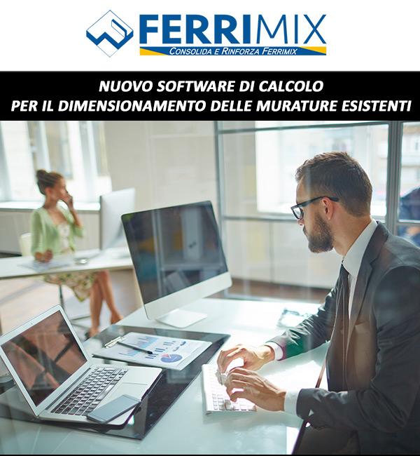 Ferrimix - Nuovo software di calcolo per il dimensionamento delle murature esistenti