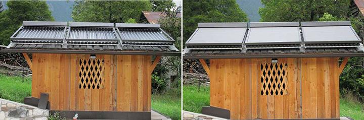 Protezione automatica, resistente e adattabile per pannelli solari 3