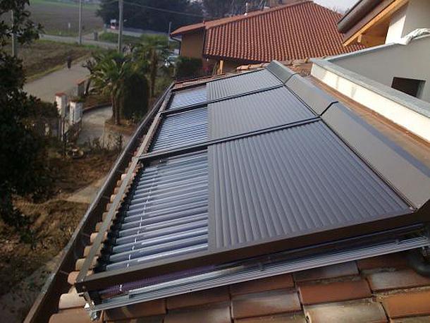 Protezione pannelli solari 1