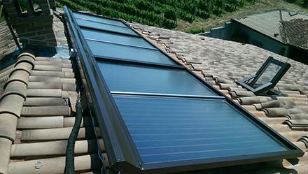La protezione per collettori solari, resistente e adattabile