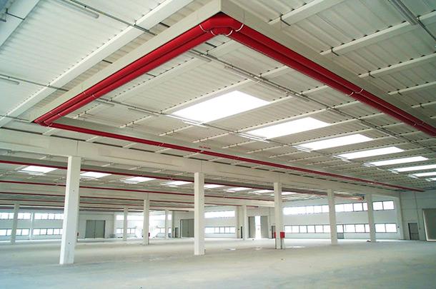 Soluzioni radianti a soffitto per raffrescamento e riscaldamento 1