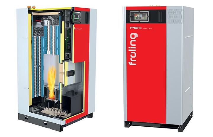 PE1c - Caldaia a condensazione con elettrofiltro integrabile