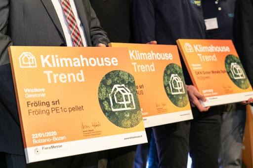 La caldaia PE1cha vinto il premio Klimahouse Trend 2020