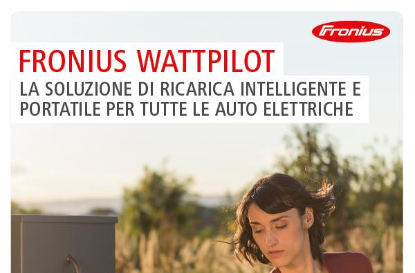 Fronius Wattpilot - La soluzione di ricarica intelligente e portatile per tutte le auto elettriche