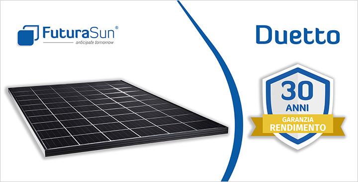 Duetto: la nuova linea di pannelli fotovoltaici vetro/vetro