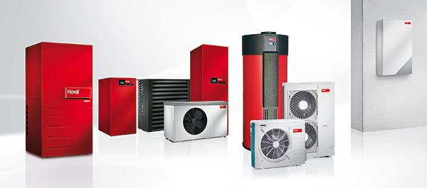 Impianto di riscaldamento e climatizzazione Hoval