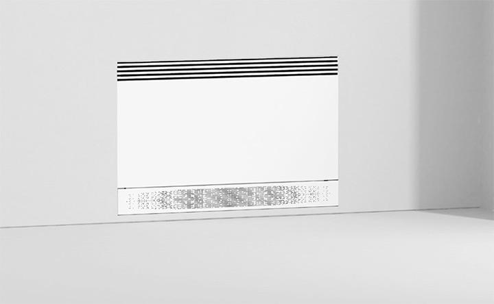 Fancoil AirLeaf SLI. accessori per incasso rasomuro