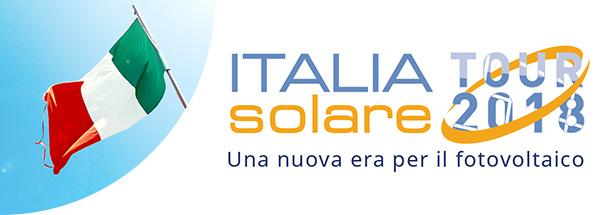 Italia Solare Tour 2018 - Una nuova era per il fotovoltaico