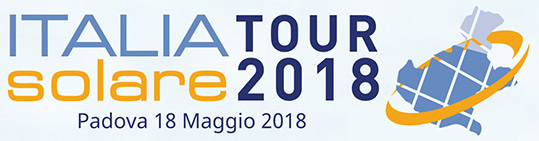 Italia Solare Tour 2018 - Padova 18 Maggio 2018
