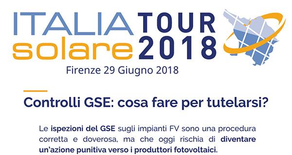 Italia Solare tour 2018 - Firenze 29 Giugno 2018