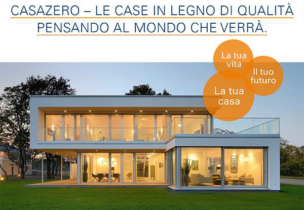 CasaZero - Le case in legno di qualità pensando al mondo che verrà