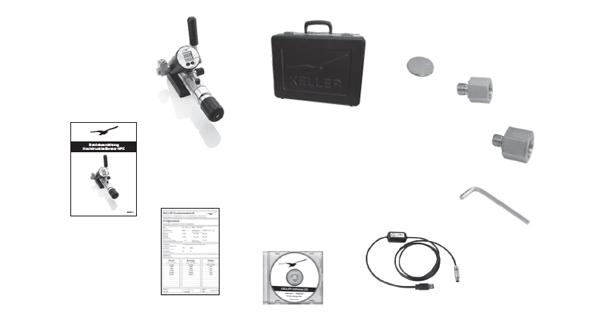 Calibratore HPX di Alta Pressione 3