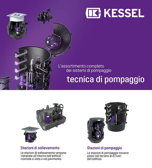 Kessel - L'assortimento completo dei sistemi di pompaggio