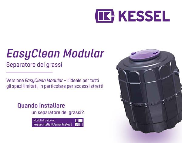 Kessel - EasyClean Modular, separatore dei grassi