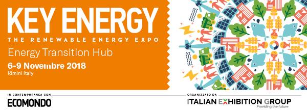 Key Energy - 6-9 Novembre 2018, Rimini Italy